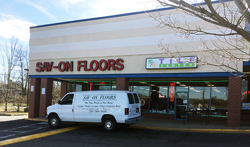 Sav-On Floors Exterior
